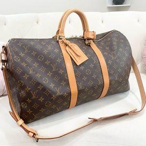 Like New🔥Louis Vuitton Keepall Bandaouie 50